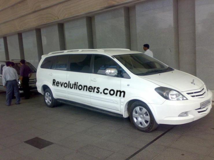 Toyota Innova Limousine