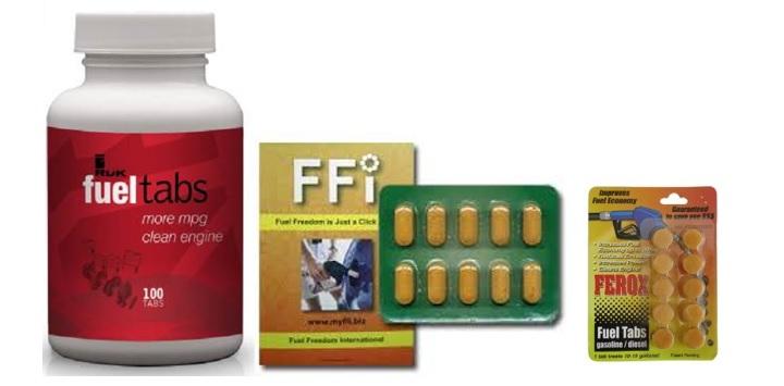 fuel saving tablets