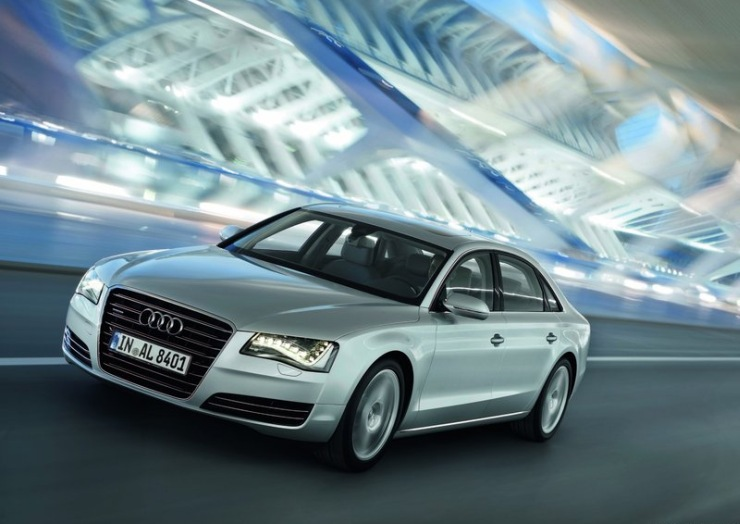 2011 Audi A8 L W12 Luxury Saloon 2