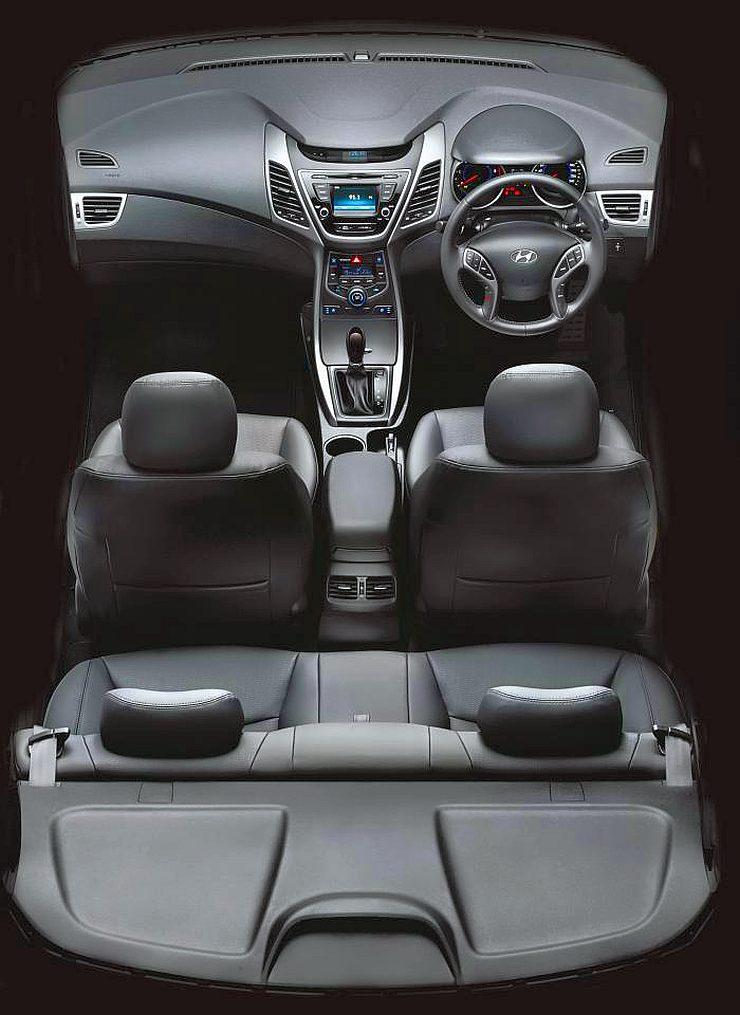 2015 Hyundai Elantra Sedan Facelift Interiors