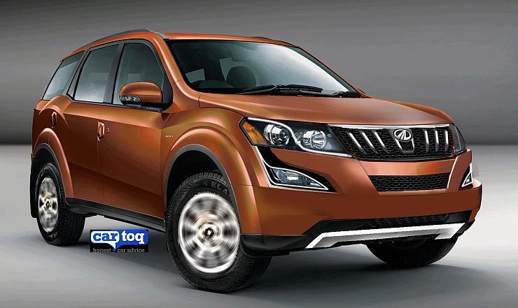 2015 Mahindra XUV500 Crossover Facelift Render