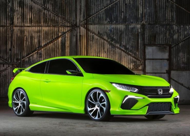 Attrayant 2016 Honda Civic Concept Front Three Quarters