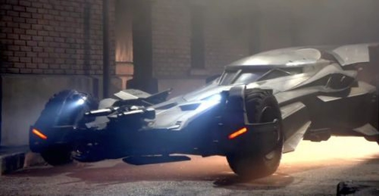 The Latest BatMobile Is Out - Images and Video Inside