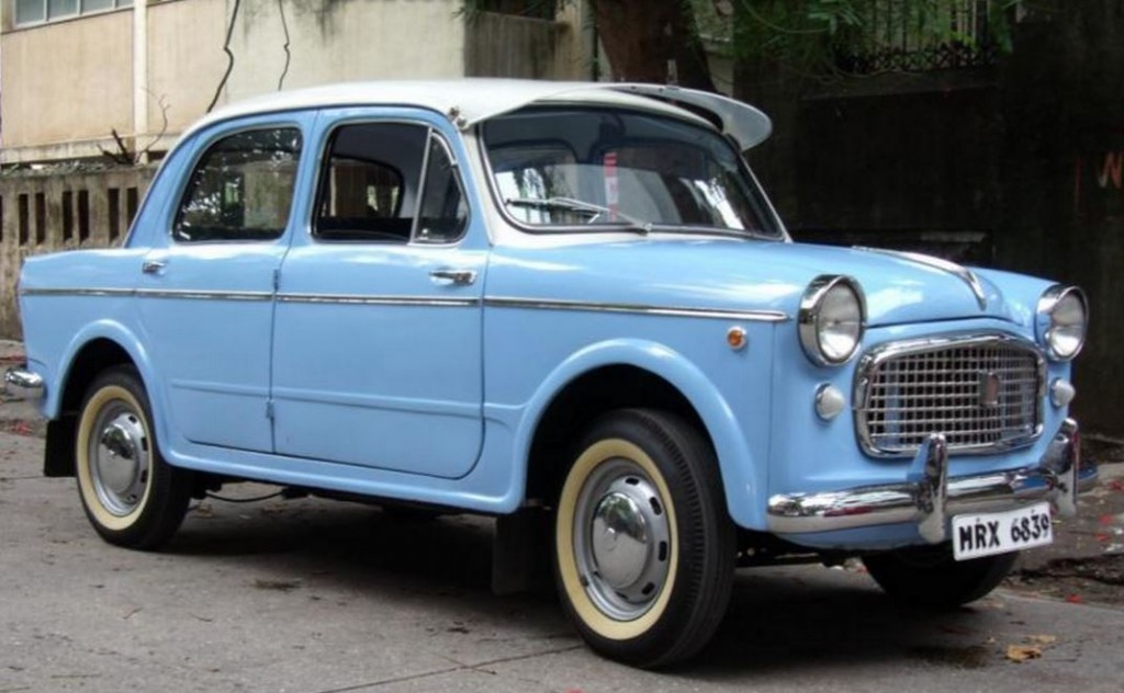 Fiat 1100 Front