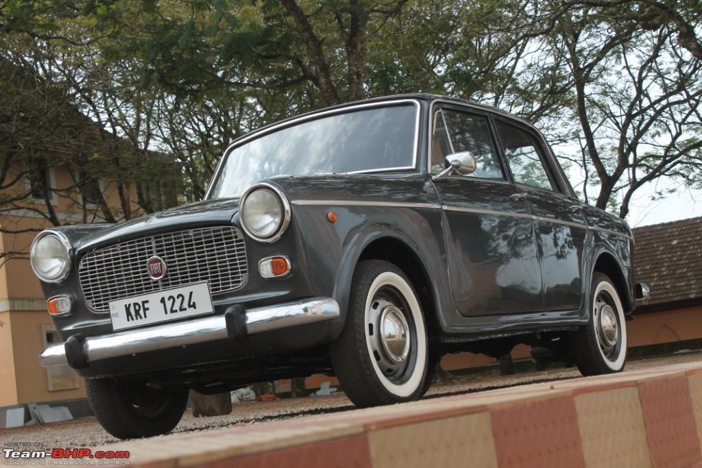 Fiat 1100D Front