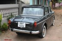 Fiat 1100D Rear