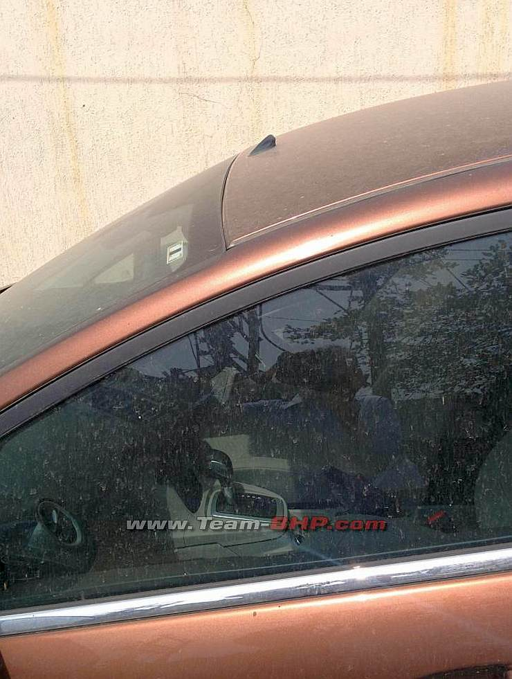 Ford Fiesta Facelift Petrol Automatic Spyshot
