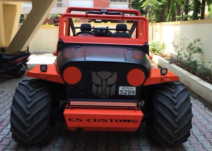 GS Customs' Mahindra Thar based Monstharr 1