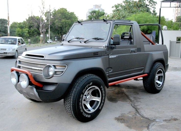 Maruti Suzuki Gypsy Modified