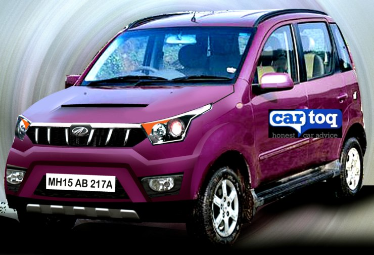 Mahindra Quanto Facelift in CarToq's Speculative Render