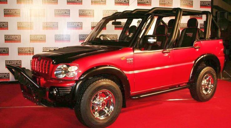 Modified Mahindra Scorpio MS Dhoni Edition 1