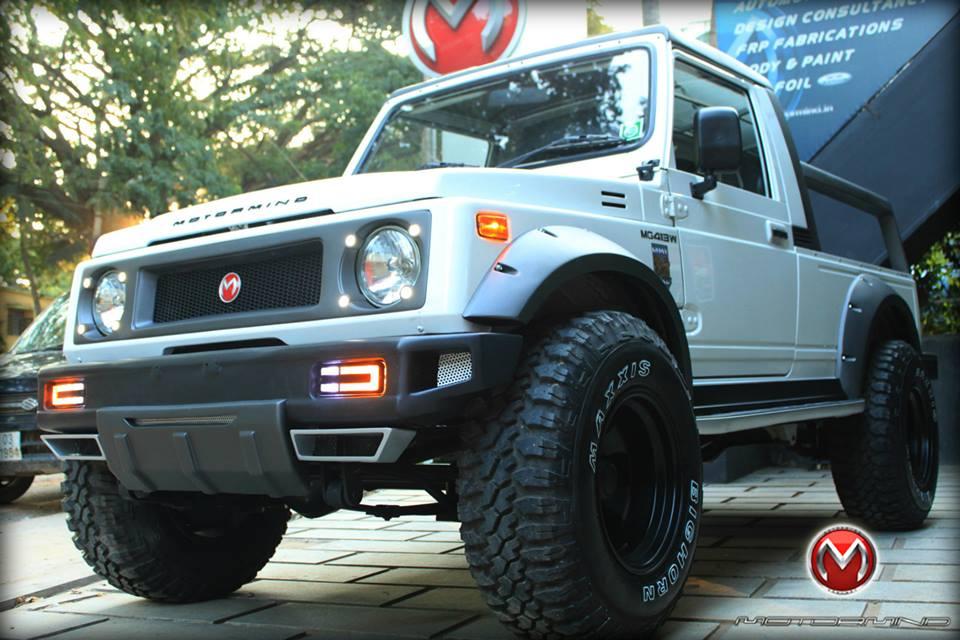 Maruti Suzuki Gypsy King Modified