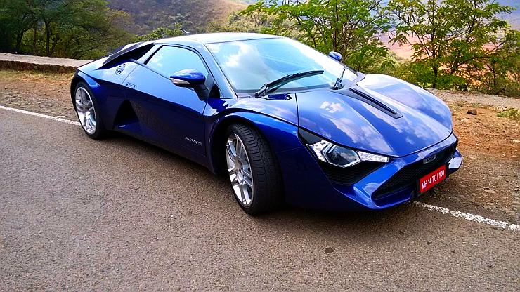 Production Trim DC Avanti Sportscar