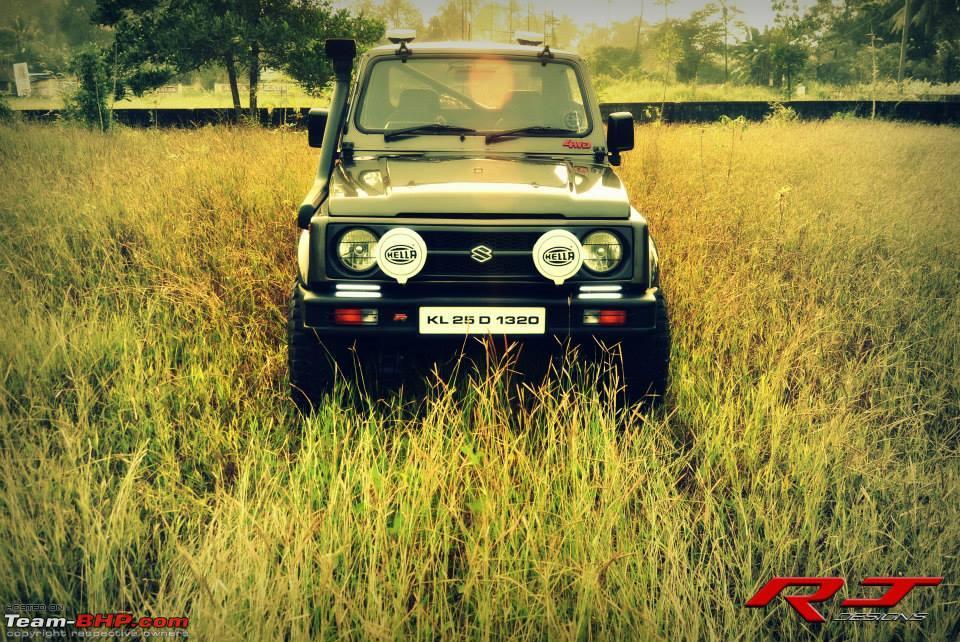 RJ Design's Maruti Gypsy 1