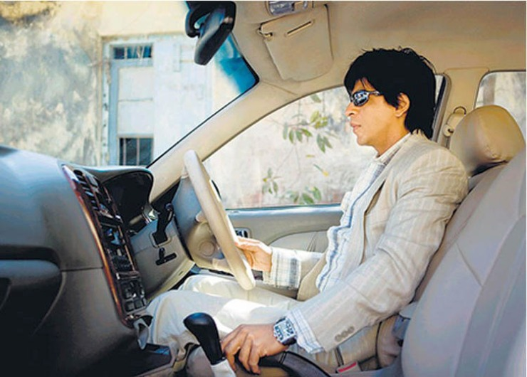 Shahrukh Khan Car Driving