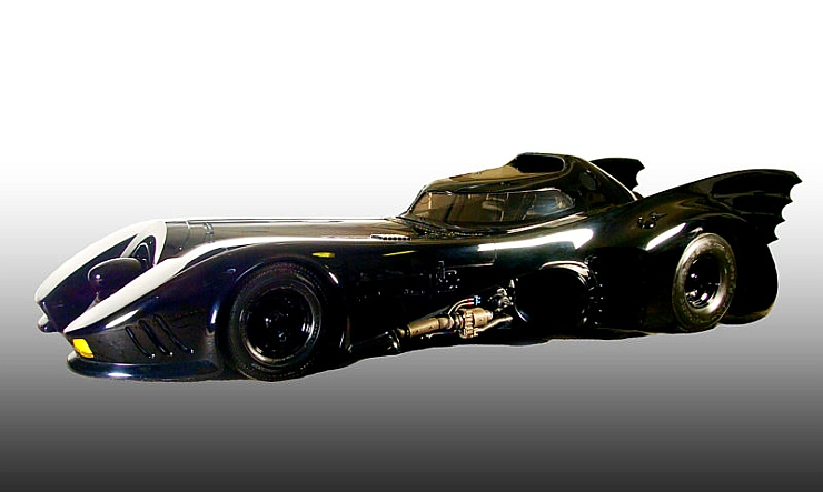The Original Batmobile from Batman 3