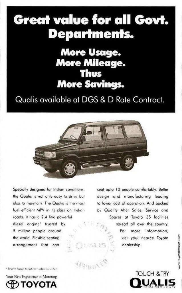 Toyota Qualis Ad