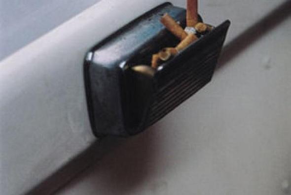 ashtray in car