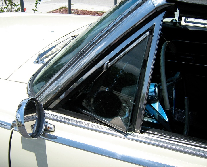 quarter glass wind scoop