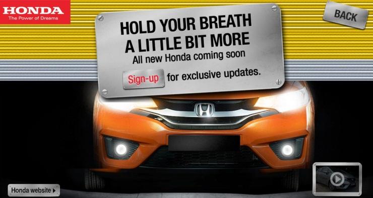 2015 Honda Jazz Teaser