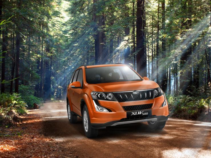 2015 Mahindra XUV500 Facelift 1
