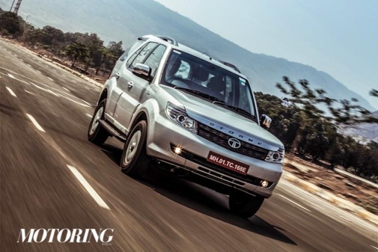 2015 Tata Safari Storme SUV Facelift 2
