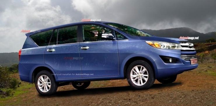 2016 Toyota Innova MPV Render