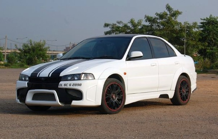 Free Flow Exhaust >> 10 Hot Mitsubishi Lancer Modifications from India - Part I