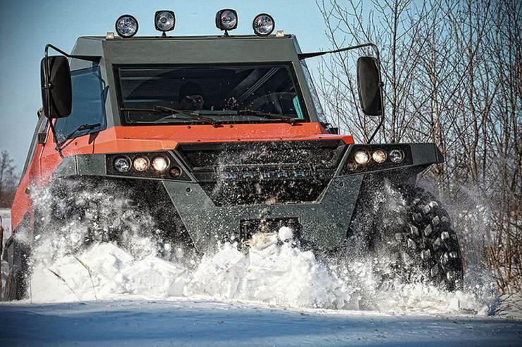 Avtoros Shaman 8X8 ATV 5