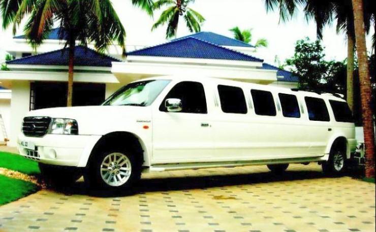 Ford Endeavour Limousine