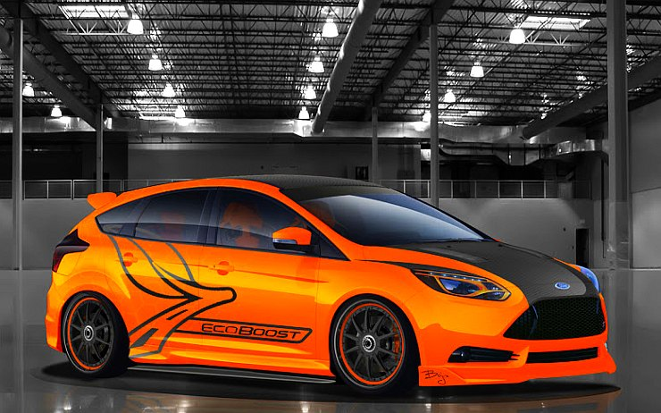 Ford Fiesta Lowered