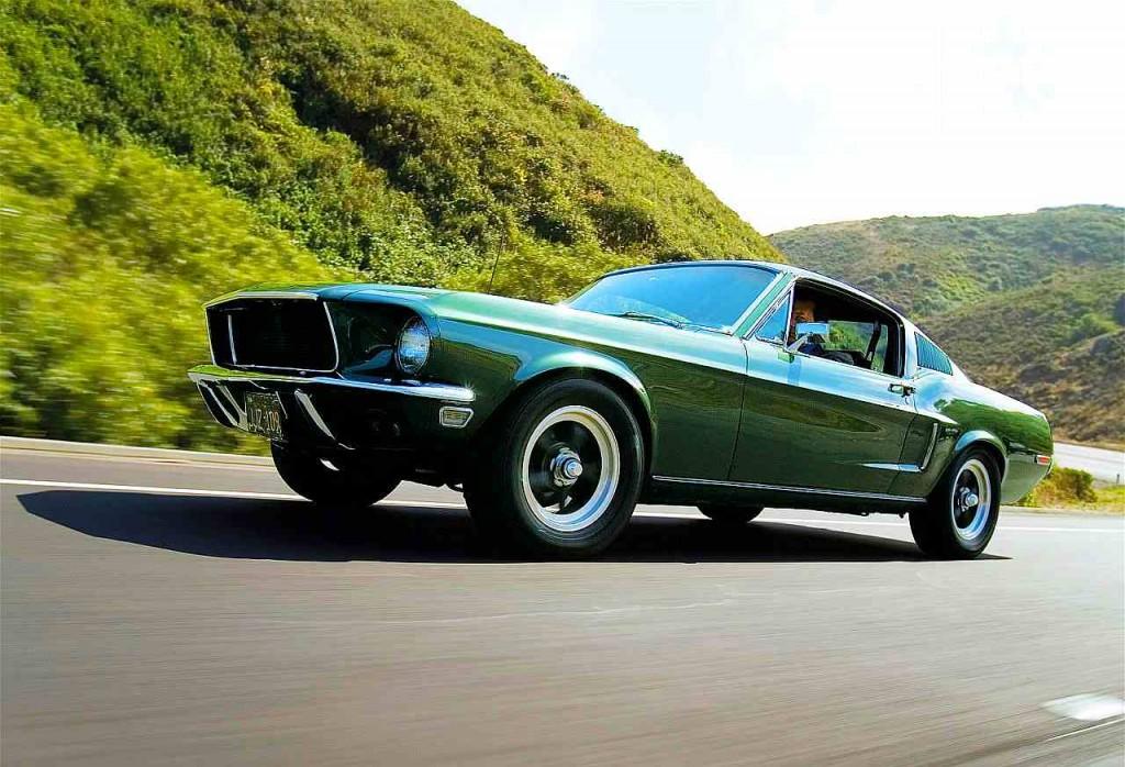Ford Mustang Bullitt Replica