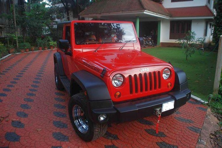 Jeep Rubicon based on Mahindra Thar 1