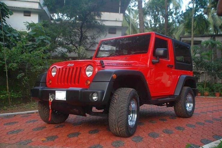 Jeep Rubicon based on Mahindra Thar 2