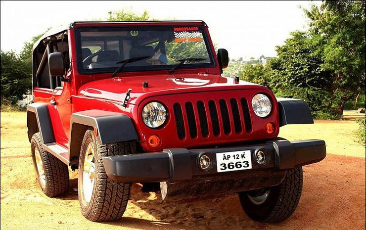 Jeep Wrangler based on Mahindra MM540 1
