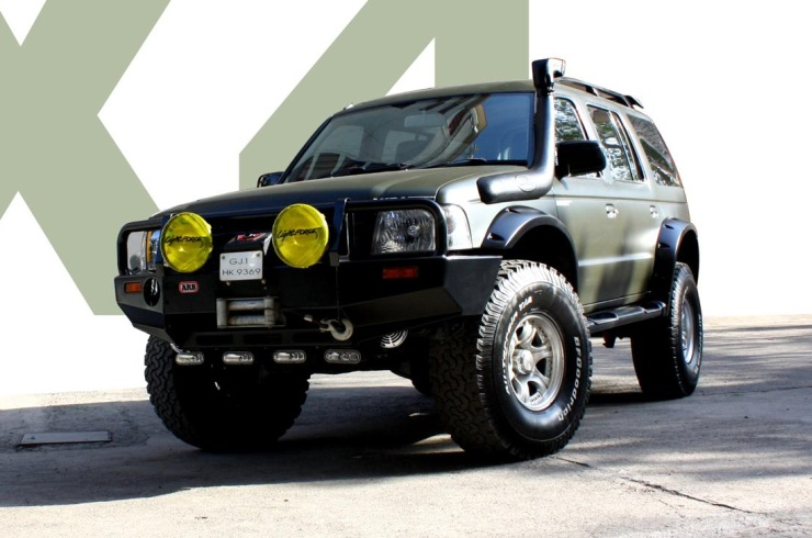 5 Modified Ford Endeavour Suvs