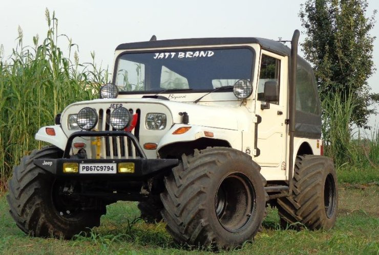 Mahindra MM540 with Tractor Tyres