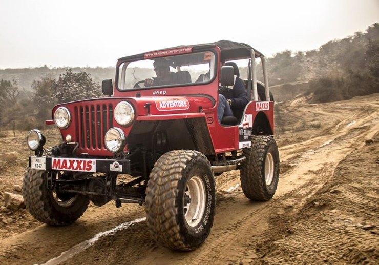 Mahindra Off Road Ready Jeep