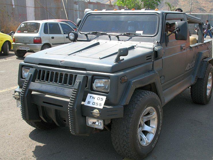 Maruti Suzuki Gypsy To Hummer Hx Conversion