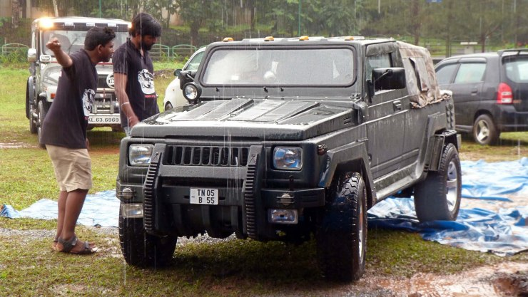 Maruti Suzuki Gypsy To Hummer Hx Conversion