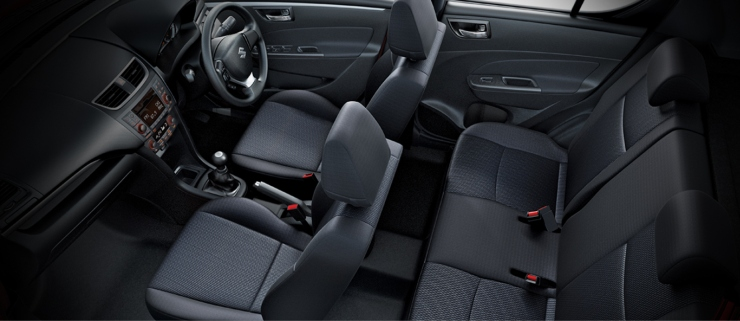 Maruti Suzuki Swift Facelift Interiors