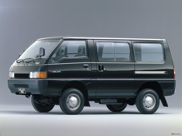 Mitsubishi Voyager L300 a.k.a the Mahindra Voyager