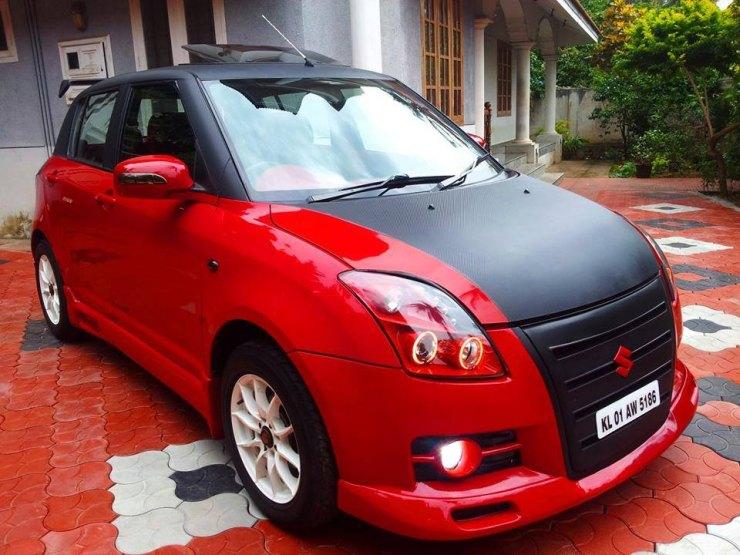Modified Maruti Suzuki Swift