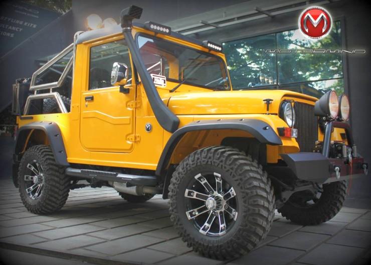 MotorMind's Mahindra Thar Custom 2