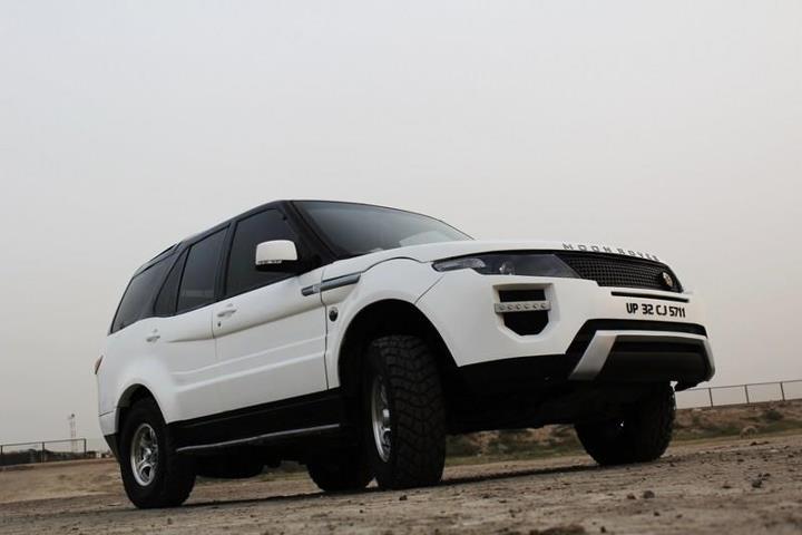 Range Rover Evoque replica based on the Tata Safari SUV 3