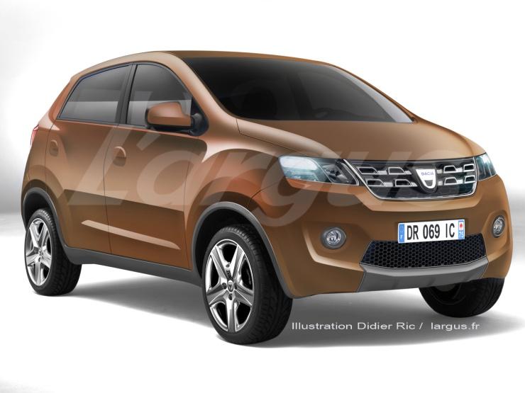 Renault Kayou Budget Hatchback Render