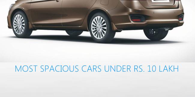 Three Roomiest Sedans Under Rs 10 Lakh