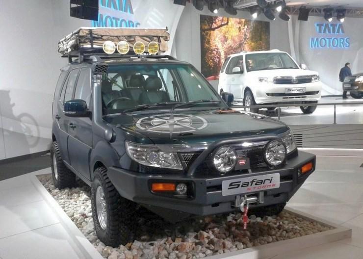 Tata Safari Storme Custom from the 2012 Auto Expo 2