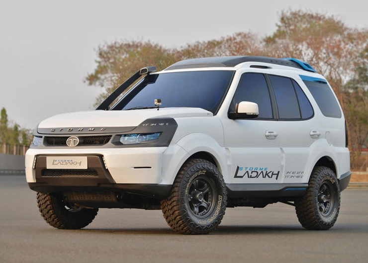 Tata Safari Storme Ladakh Edition