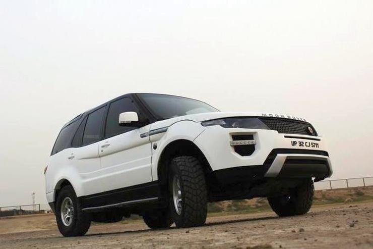 In images 10 modified tata safari suvs cartoq honest for Tata motors range rover